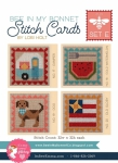 Bee In My Bonnet Stitch Cards Set E Patterns by Lori Holt