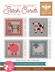 Bee In My Bonnet Stitch Cards Set H Patterns by Lori Holt