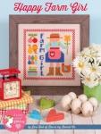 Happy Farm Girl Cross Stitch Pattern by Lori Holt