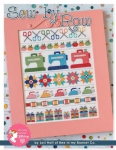 Sew by Row Cross Stitch Pattern by Lori Holt
