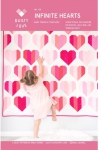 Infinite Hearts Quilt Pattern by Quilty Love