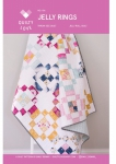 Jelly Rings Quilt Pattern by Quilty Love