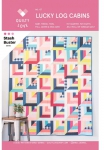 Lucky Log Cabins Quilt Pattern by Quilty Love