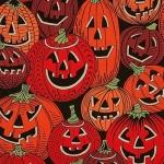 ALEXANDER HENRY - Jack O'Laughter - Black/Orange