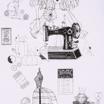 ALEXANDER HENRY - A Ghastlie Craft - Black/White