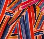 ALEXANDER HENRY - Wilderberry - Stripe - Blush