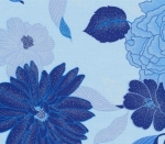 BENARTEX - Blue Brilliance - Floral Light Blue - #2031-