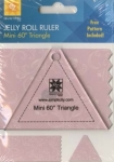 Jelly Roll Ruler - Mini 60 Degree Triangle by EZ Quilting