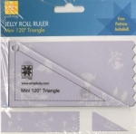 Jelly Roll Ruler - Mini 120 Degree Triangle by EZ Quilting