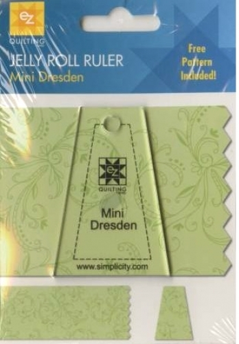 Jelly Roll Ruler Mini Dresden By Ez Quilting 070659962936