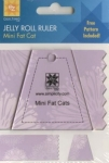 Jelly Roll Ruler - Mini Fat Cats by EZ Quilting
