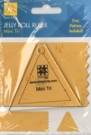 Jelly Roll Ruler - Mini Tri by EZ Quilting