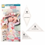 Jelly Roll Ruler Mini 45 Diamond, Mini Companion Angle, Mini Easy Angle  by EZ Quilting