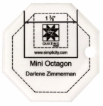 Jelly Roll Ruler Mini Octagon by EZ Quilting