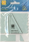Jelly Roll Ruler - Mini Recs  by EZ Quilting