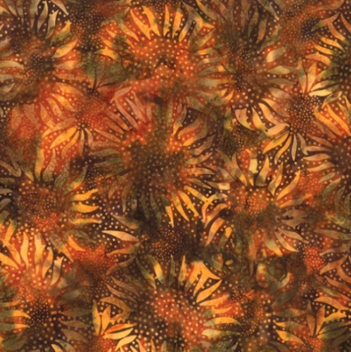 HOFFMAN - Bali Chop - Sunflower - Teak - K50071-