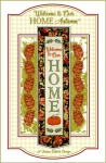 CD - Welcome to Our Home - Autumn Wall Hanging Machine Embroidery by Janine Babich