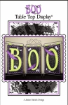 CD - BOO Table Top Display Machine Embroidery by Janine Babich Design