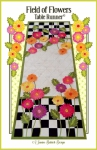 CD - Field of Flowers Table Runner by Janine Babich Design