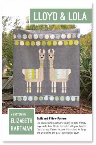 Lloyd and Lola Quilt Pattern by Elizabeth Hartman