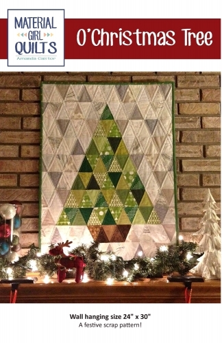 O Christmas Tree Wall Hanging By Material Girl Quilts 662578983828