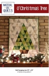 O'Christmas Tree Wall Hanging by Material Girl Quilts