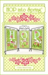 CD - Hop Into Spring Table Top Display Machine Embroidery by Janine Babich Design