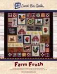 CD - Farm Fresh Applique Machine Embroidery CD by Lunch Box Quilts