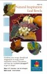 Natural Inspiration Leaf Bowls By PoorHouse Quilt Designs