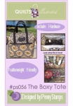 The Boxy Tote by Quiltsillustrated