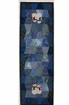 Cut Loose Press - Mr & Mrs Frosty One Patch Runner Pattern