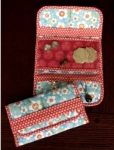 Cut Loose Press - Jewelry Travel Wallet Pattern CLPAUN001