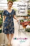 Summer Jazz Dress Pattern by Snapdragon Studios