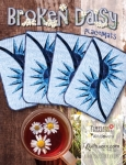 Broken Daisy Placemats Pattern by Quiltworx