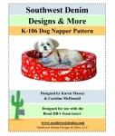 K-106 Dog Napper Pattern from Southwest Denim Designs & More