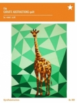 The Giraffe Abstractions Quilt Pattern by Violet Craft