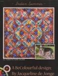 Indian Summer Pattern by Jacqueline De Jonge