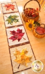 Patchwork Maple Leaf Table Runner by Shabby Fabrics