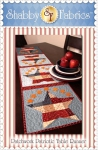 Patchwork Patriotic Table Runner by Shabby Fabrics