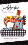 Jennifer Jangles Sewing Mchine Pin Cushion Pattern