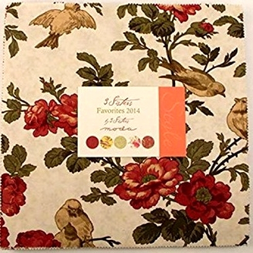 3 Sisters Favorites 2014 Layer Cake by 3 Sisters Moda Precuts