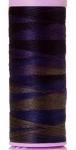Silk-finish 50wt Variegated Cotton Thread 109yd/100m Deep Night