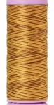 Silk-finish 50wt Variegated Cotton Thread 109yd/100m Choco Banana