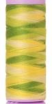 Silk-finish 50wt Variegated Cotton Thread 109yd/100m Citrus Twist