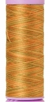 Silk-finish 50wt Variegated Cotton Thread 109yd/100m New Fields