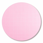 Sue Daley 16 Inch Pink Round Rotating Cutting Mat