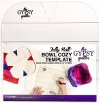 Jelly Roll Bowl Cozy Template by Gypsy Quilter