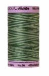 Silk-finish 50wt Variegated Cotton Thread 500yd/457m Spruce Pines