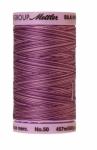 Silk-finish 50wt Variegated Cotton Thread 500yd/457m Lilac Bouquet