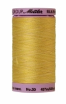Silk-finish 50wt Variegated Cotton Thread 500yd/457m Canary Yellow